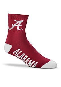 Alabama Quarter Socks-Single Pair