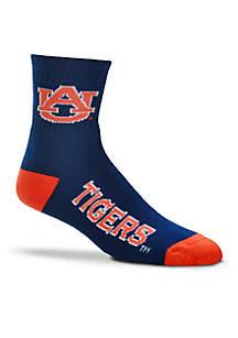 Auburn Tigers Crew Socks-Single Pair