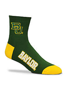 Baylor Bears Quarter Socks