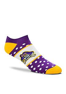 ECU Anklet Socks-Single Pair