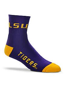 Louisiana State Crew Socks-Single Pair