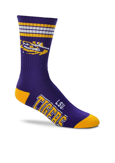 FBF Originals LSU Tigers 4 Stripe Deuce Performance