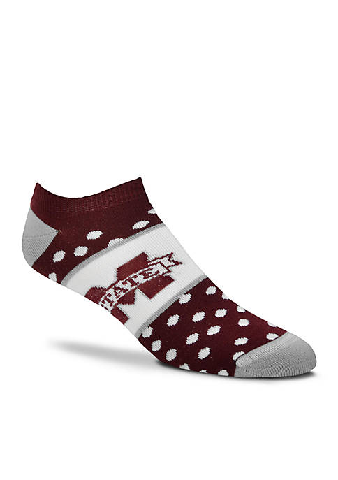 FBF Originals Mississippi State Anklet Socks-Single Pair