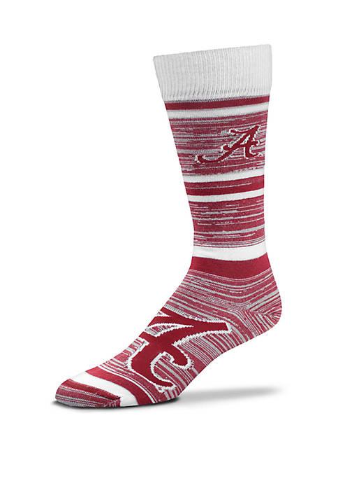 Alabama Crimson Tide Game Time Dress Socks