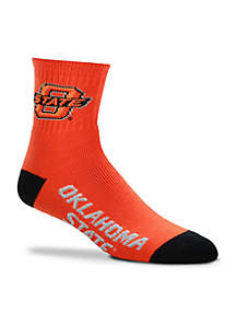 Oklahoma State Cowboys Quarter Socks