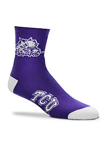 TCU Horned Frogs Quarter Socks