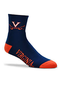 Virginia Cavaliers Quarter Socks