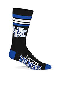 Kentucky Wildcats 4-Stripe Deuce Crew Socks