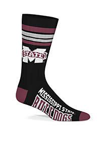 Mississippi State Bulldogs Socks