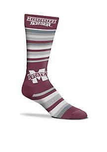 Mississippi State Bulldogs The Boss Dress Sock