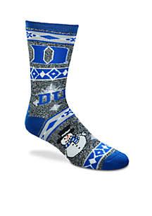 Duke Holiday Motif Socks