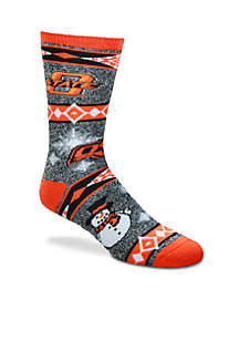 Oklahoma State Cowboys Holiday Motif Socks