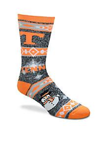 Tennessee Volunteers Holiday Motif Socks
