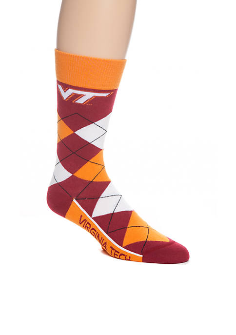 FBF Originals VA Tech Argyle Line Up Socks