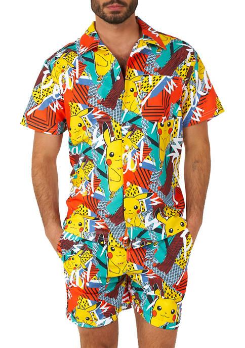 OppoSuits Pika Pikachu Pokemon™ Summer Shirt and Shorts