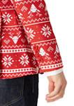Christmas Nordic Red Blazer