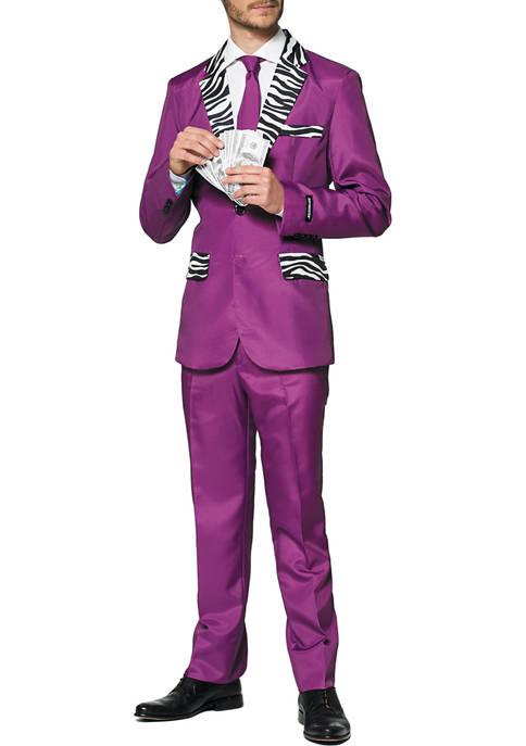 Purple Pimp Halloween Suit