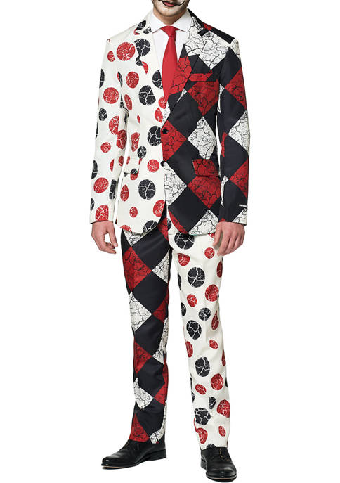 Suitmeister Halloween Red Clown Suit