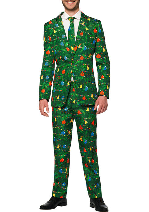 Christmas Green Tree Light Up Suit