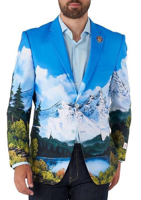 OppoSuits Bob Ross™ Licensed Slim Fit Blazer