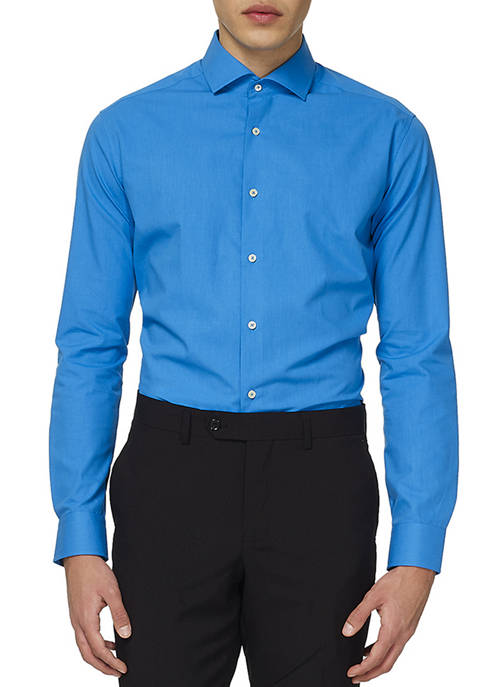 OppoSuits Blue Steel Shirt
