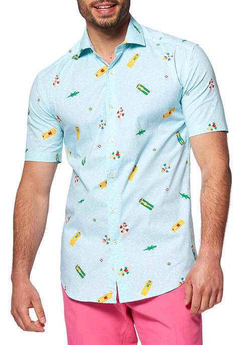 OppoSuits Pool Life Water Summer Shirt