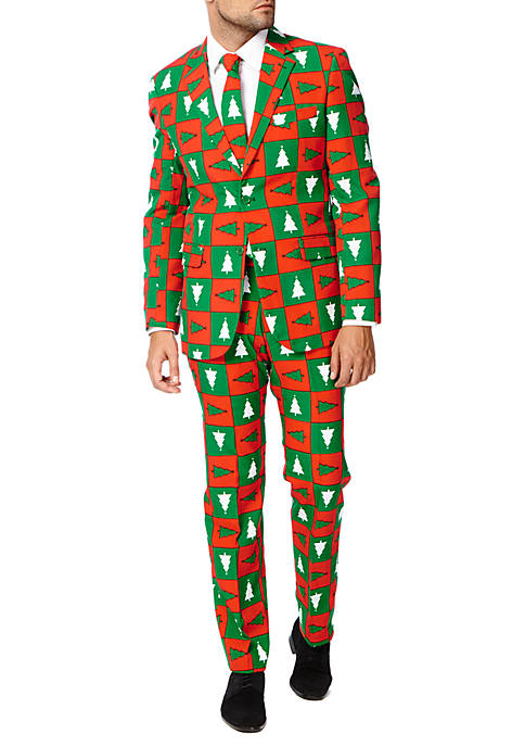 Two-Piece Treemendous Christmas Sweater Suit