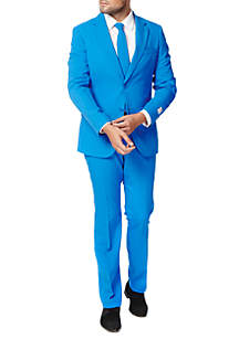 OppoSuits Blue Steel Solid Suit