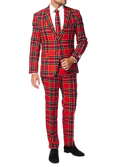 OppoSuits The Lumberjack Plaid Suit