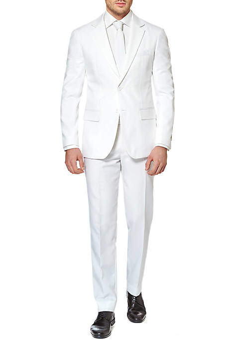 OppoSuits The White Knight Solid Suit