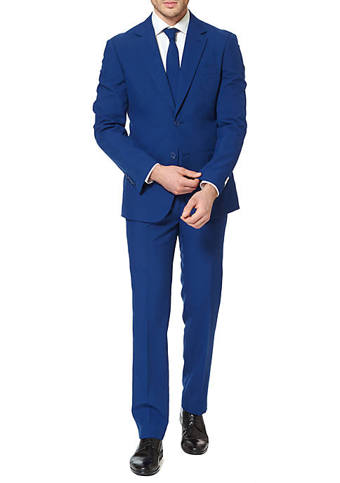 OppoSuits The Navy Royale Solid suit