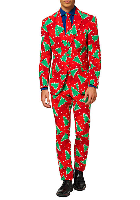 OppoSuits Fine Pine Christmas Tree Suit