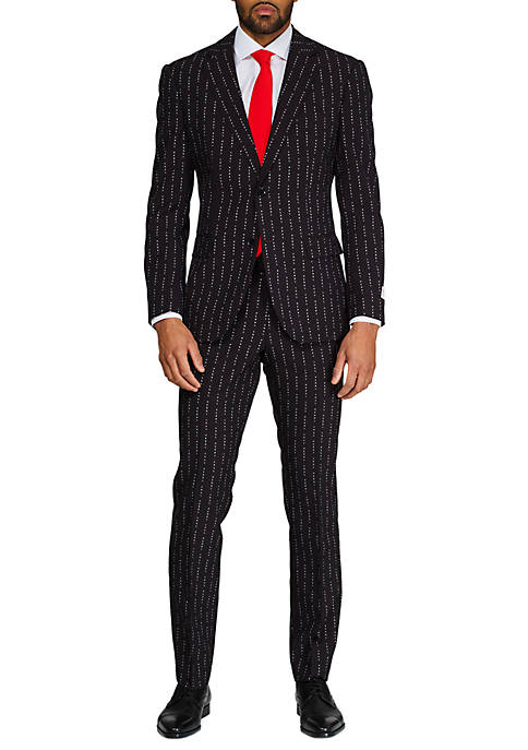 Merry Pinstripe Christmas Suit