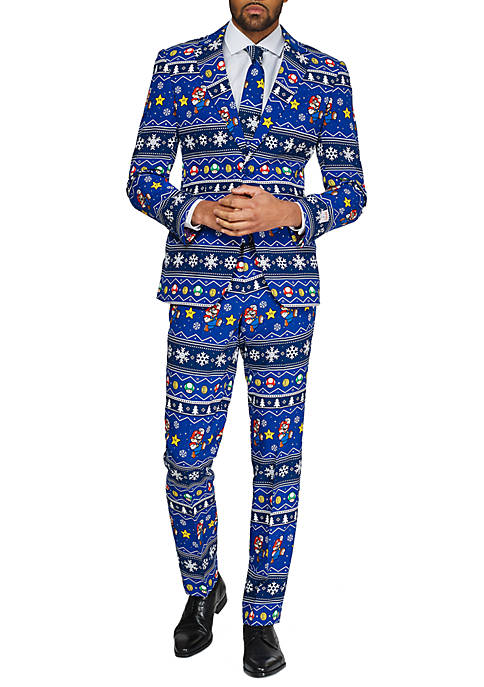 OppoSuits Merry Mario™ Licensed Christmas Suit