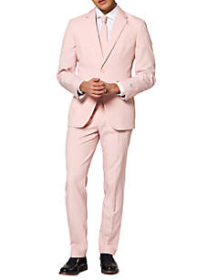 OppoSuits Lush Blush Solid Suit