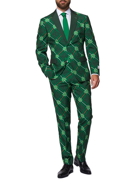 OppoSuits Shamrocker St. Patricks Day Slim Fit Suit