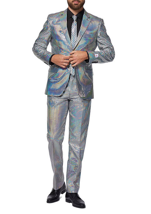 OppoSuits Discoballer Party Slim Fit Suit