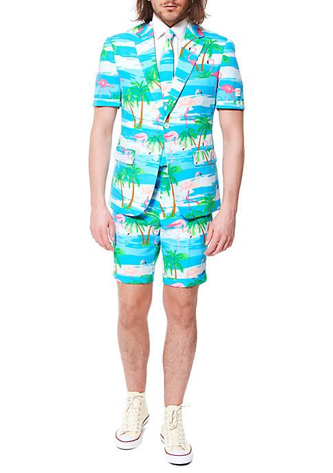 OppoSuits 2 Piece Summer Flaminguy Suit