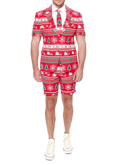 OppoSuits 2-Piece Summer Winter Wonderland Suit