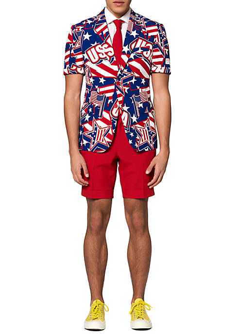 OppoSuits Summer Mighty Murica Americana Suit