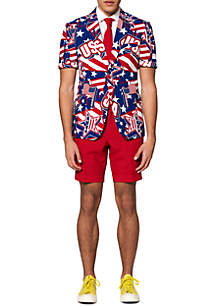OppoSuits Summer Mighty 'Murica Americana Suit
