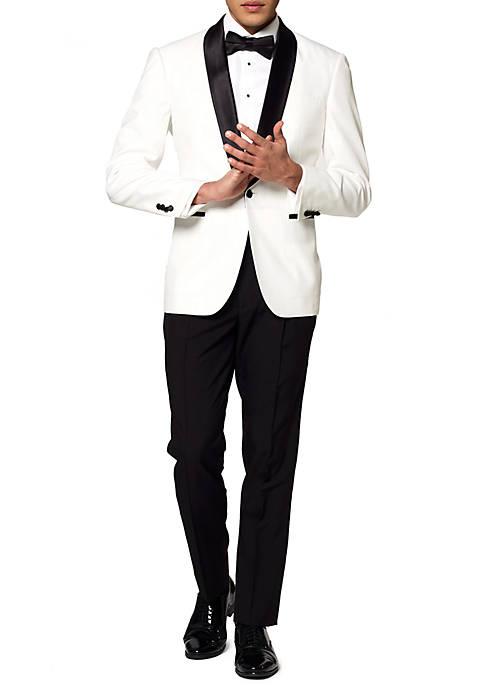 Pearly White Festive Tuxedo