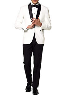 OppoSuits Pearly White Festive Tuxedo