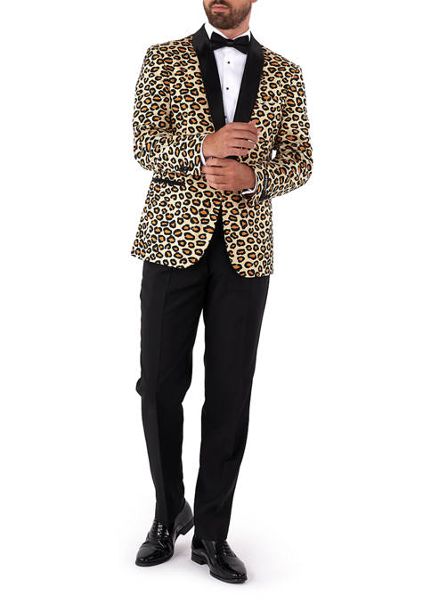 OppoSuits The Jag Animal Slim Fit Tuxedo