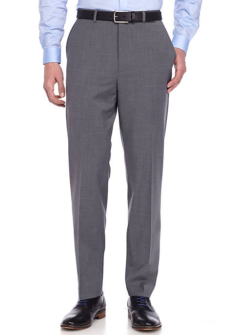 Crown & Ivy™ Slim Fit Gray Stretch Suit