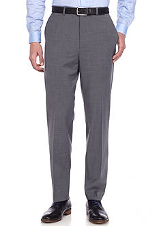 Crown & Ivy™ Slim Fit Gray Stretch Suit Pant