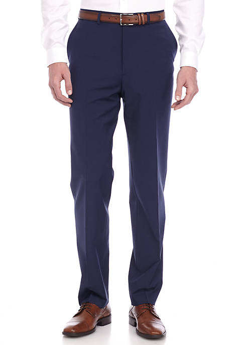Crown & Ivy™ Slim-Fit Navy Stretch Suit Pant