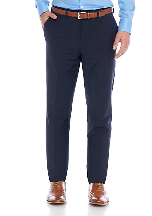 Crown & Ivy™ Motion Flex Wool Blend Suit