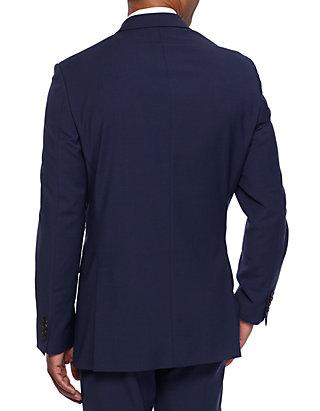 94dbc5fcd7dcc Crown   Ivy™. Crown   Ivy™ Slim Fit Navy Stretch Suit Coat