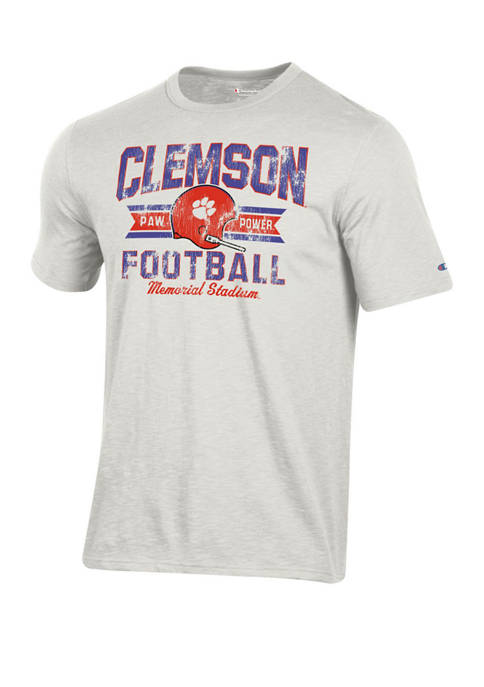 Champion® Mens NCAA Clemson Tigers Football Vault T-Shirt